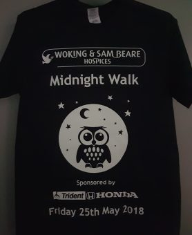 Midnight Walk - £18 early bird offer with glow-in-the-dark t-shirt!