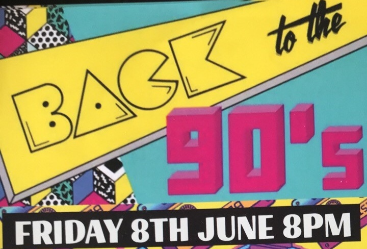 Back to the 90s Disco Night