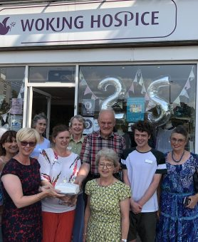 West Byfleet shop celebrates 25 year anniversary