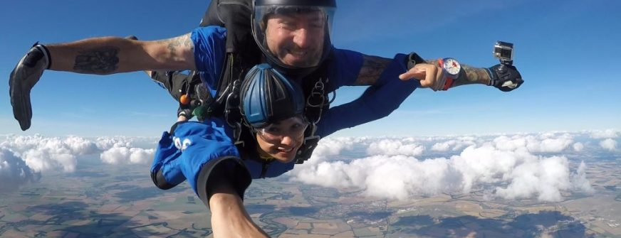 Skydive day - Woking & Sam Beare Hospices