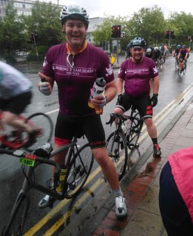 Ride London for Woking & Sam Beare Hospices