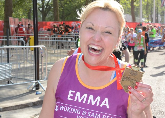 I ran the London Marathon in memory of my beloved Mum