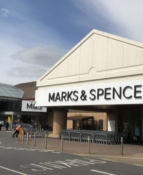 M&S Brooklands charity of the year