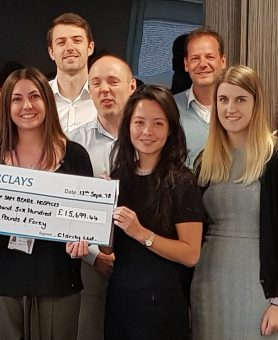 Charity partnership with clarity ltd