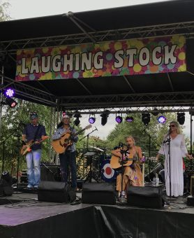 Laughing Stock Festival support for the Hospices