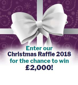 Launch of our Christmas Raffle 2018