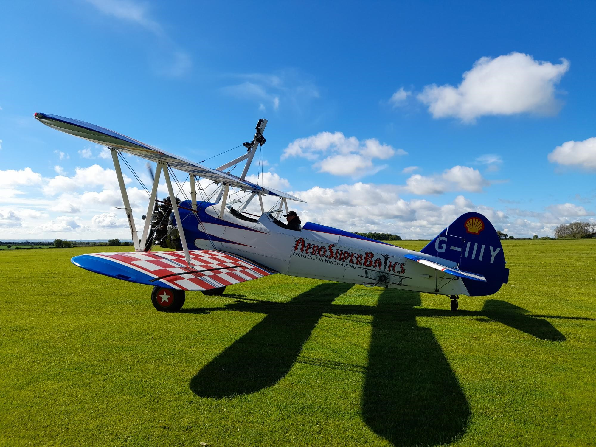 Wing Walking experience, flying in style