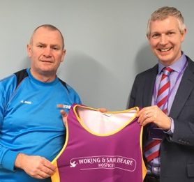 Woking FC manager Alan Dowson to run Surrey Half Marathon
