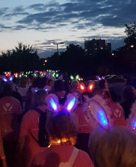 Walking in memory at the Midnight Walk