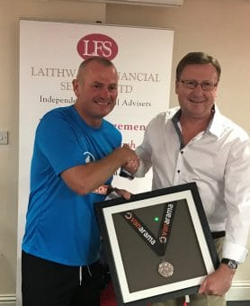 Woking FC Manager Alan Dowson play off medal gifted back by auction winner