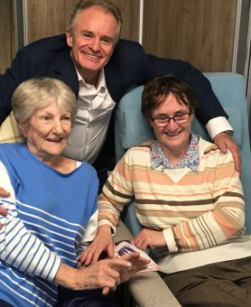Bobby Davro puts a smile on our patients' faces